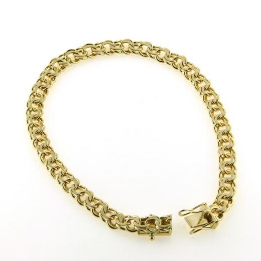 BNH 14kt Guld Bismark Armbånd 4,0mm/21cm BNB1440021C-31