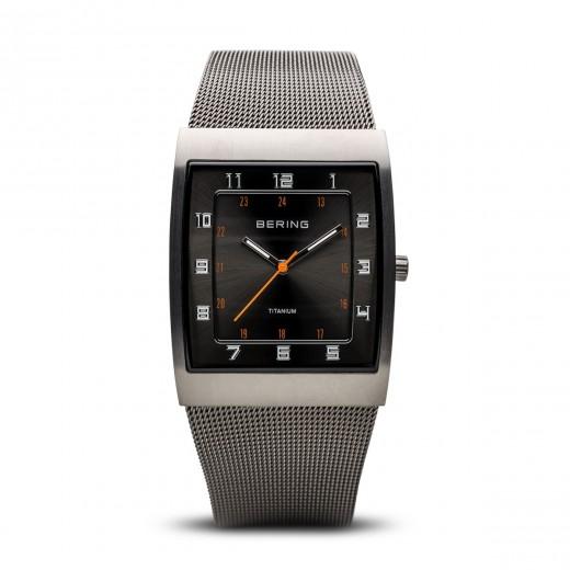 Titanium børstet grå 11233-077-31