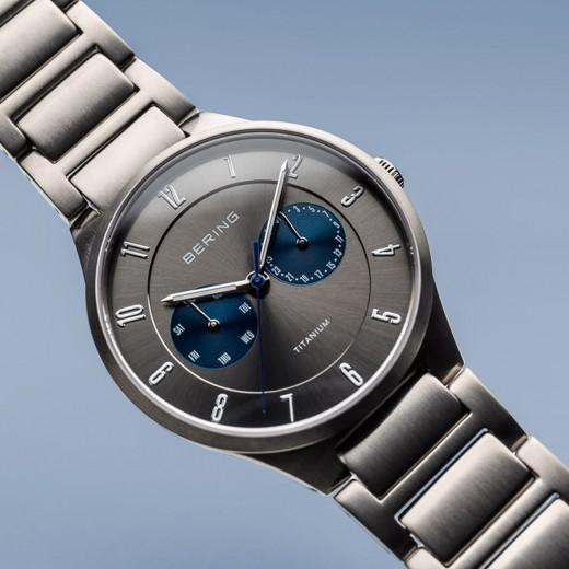 Titanium børstet sølv 11539-777-01