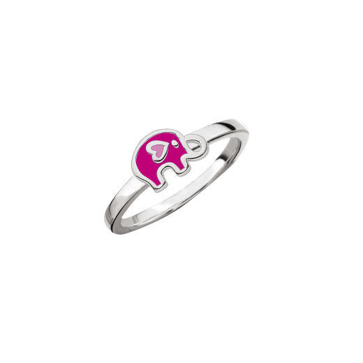 SmykkeLine Elefant Ring i Pink 12223316-31