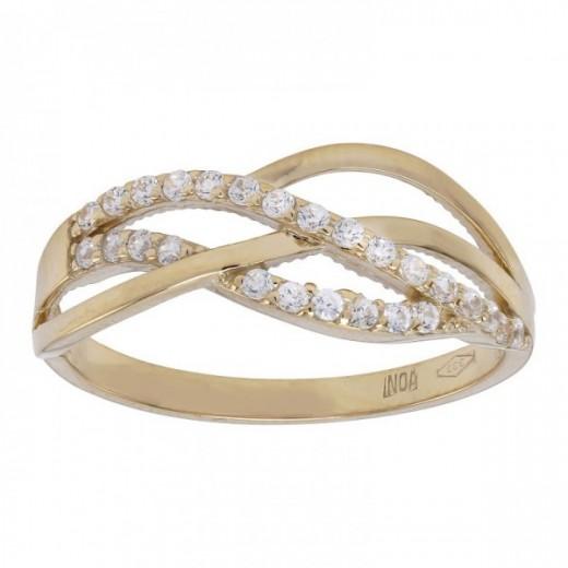 Nordahl Andersen 8kt Guld Ring med Zirkonia 142 1733CZ3-31