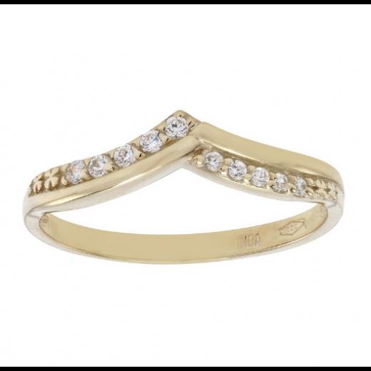 Nordahl Andersen 8kt Guld ring med syn. zirkonia 142 1730CZ3-32