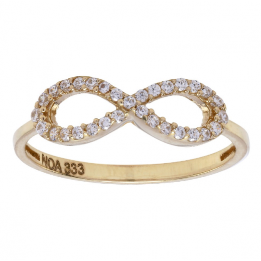 Nordahl Andersen Infinity Ring 8 ct. Guld 183 014CZ3-32