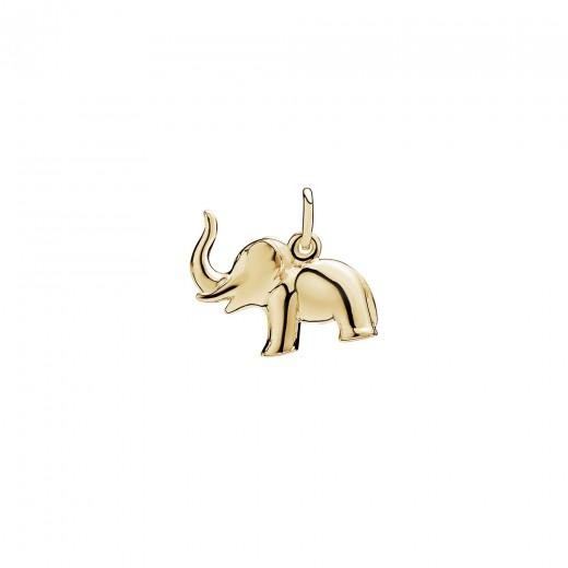 Lund Copenhagen 8kt Guld Elefant Vedhæng 308005-31