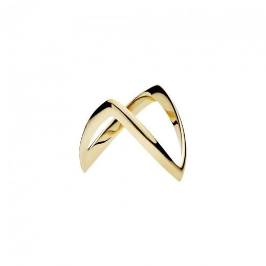 Lund Copenhagen 3,5mm Bispehue Ring i 14kt Guld 5077540-32