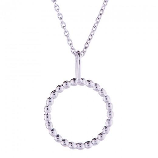 Nordahl Jewellery Circle Dot Halskæde 825 558-31