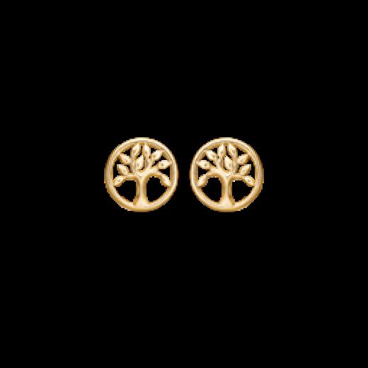Støvring design guld ørestikker 60242801-31