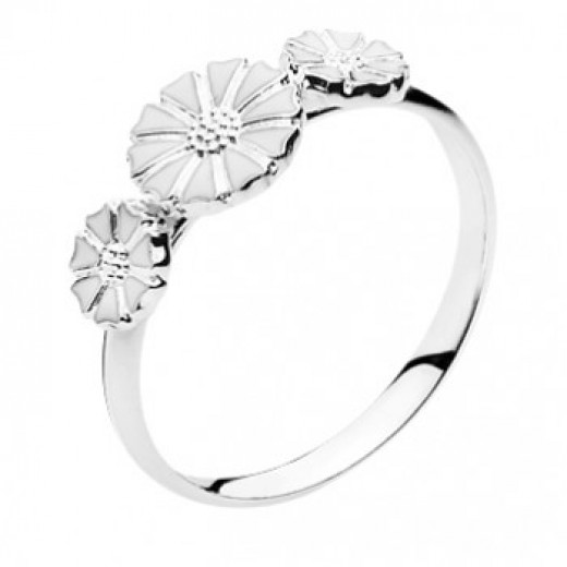 Lund Copenhagen 7,5mm Marguerit Ring 907075-3-H-31