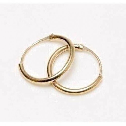 BNH 8kt Guld Creol 1,3mm/13mm CR81301-31