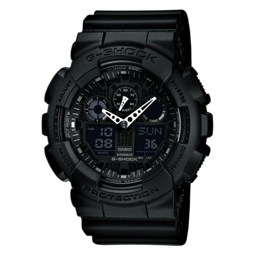 Casio G-Shock Sort Basic GA-100-1A1ER-31