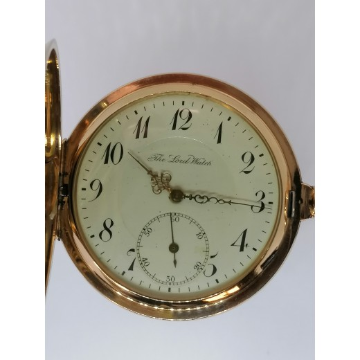 The Lord Watch 14kt Guld Lommeur 215611-01