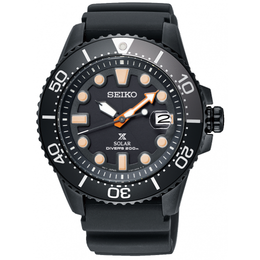 "Seiko Prospex Solar SNE493P1 LIMITED EDITION ""BLACK SERIES""-31"
