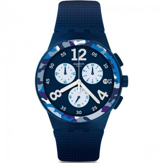 """Swatch """"Camoblu"""" SUSN414-31"""