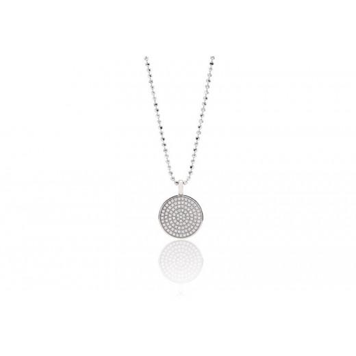 Sif Jakobs Este sølv halskæde med zirkonia SJ-P0010-CZ-31