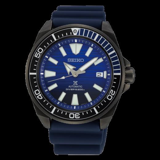 "Seiko Prospex Automatic ""Save The Ocean"" Gunmetal Black Samurai SRPD09K1-31"