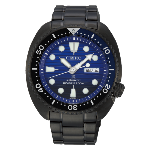 "Seiko Prospex Automatic ""Save the Ocean"" Gunmetal Black Turtle SRPD11K1-31"