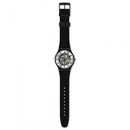 "Swatch ""Silver Glam"" SUOZ147-01"