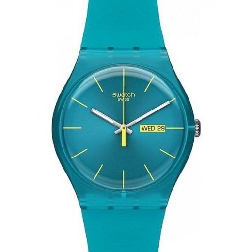 """Swatch """"Turquoise Rebel"""" SUOL700-32"""