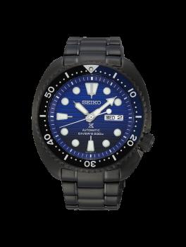 "Seiko Prospex Automatic ""Save the Ocean"" Gunmetal Black Turtle SRPD11K1-20"