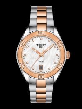 Tissot PR 100 Sport Chic med Diamanter T1019102211600-20