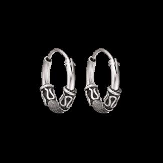 Støvring Design Sølv Creol med Oxyderet Mønster 15mm 10148847-20