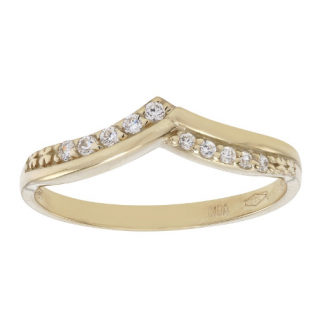 Nordahl Andersen 8kt Guld ring med syn. zirkonia 142 1730CZ3-20