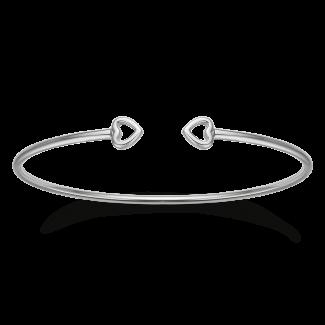 Støvring Design Sølv Armring med Hjerte 15163973-20