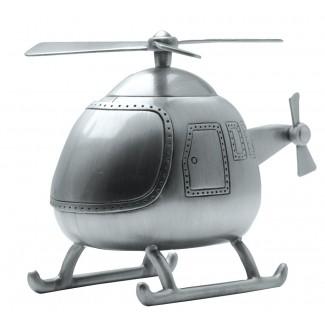 Sparebøsse med fortinnet Helikopter 152-76613-20