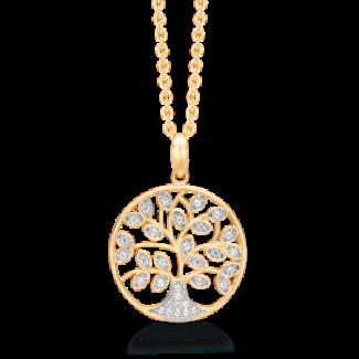 Støvring design guld halskæde 66242040-20
