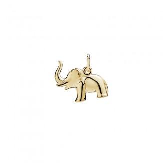 Lund Copenhagen 8kt Guld Elefant Vedhæng 308005-20
