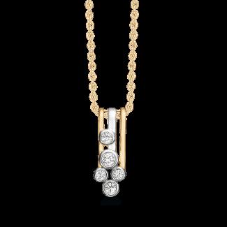 Støvring design 8 kt. Guld halskæde 66245021-20