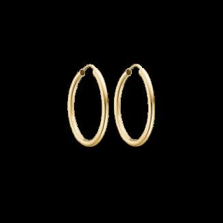 Støvring Design 14kt. Guld Creoler 25mm 70166525-20