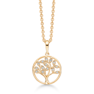 Støvring Design 14kt. guld halskæde 76242022-20