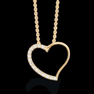 Støvring Design 14 kt. Guld halskæde 76242961-20