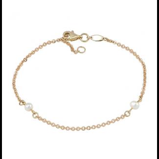 Nordahl Andersen Perlearmbånd 8 kt. Guld 882 055 3-20