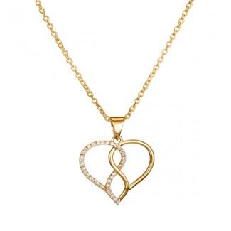 14kt guld hjerte vedhæng BL1055 PD-20