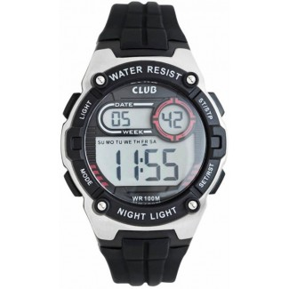 Club Time Digital Sort/Grå A47113S5E-20