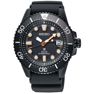 "Seiko Prospex Solar SNE493P1 LIMITED EDITION ""BLACK SERIES""-20"