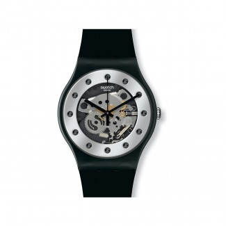 "Swatch ""Silver Glam"" SUOZ147-20"