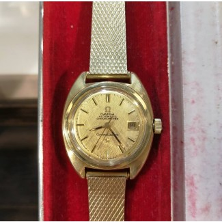 Omega Constellation Lady Automatik Chronometer 14kt Guld/Stål-20