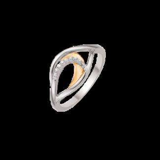 Støvring Design 14kt Guld og Hvidgulds Ring 72245032-20