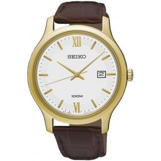 Seiko Klassisk herreur Guld Doublé SUR226P1-20