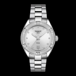 Tissot PR 100 Lady med Diamanter T101.910.11.036.00-20