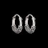 Støvring Design Sølv Creol med Oxyderet Mønster 15mm 10148847-01