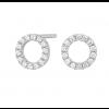 Joanli Nor sølv ANNA cirkel ørestik 8mm 345 068-01