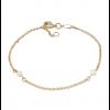 Nordahl Andersen Perlearmbånd 8 kt. Guld 882 055 3-02