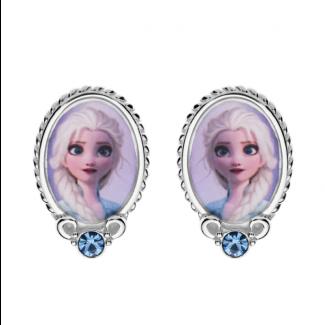 Disney Frost 2 Elsa Ørestik i Sølv 10333005