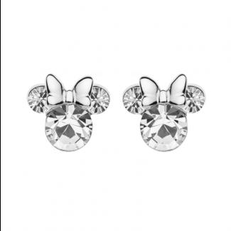 Disney Minnie Mouse Sølv Ørestik med Zirkonia Sten 10333014