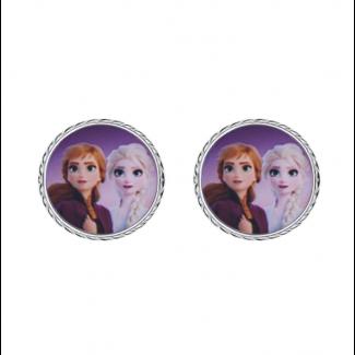 Disney Frost 2 Anna og Elsa Ørestik i Sølv 10333005