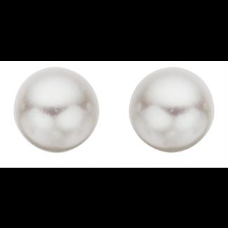 Scrouples Sølv Ferskvands Perle Ørestikker 6-6½ mm 110602